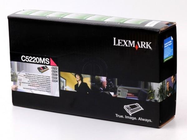 Lexmark C5220MS Toner Magenta Lexmark Optra C520N C522 C524 C530 C532 C534