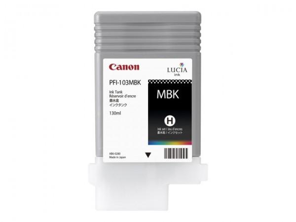 Canon PFI-103MBK Tinte fotoschwarz imagePROGRAF iPF5100 iPF6100 iPF6200 2211B001