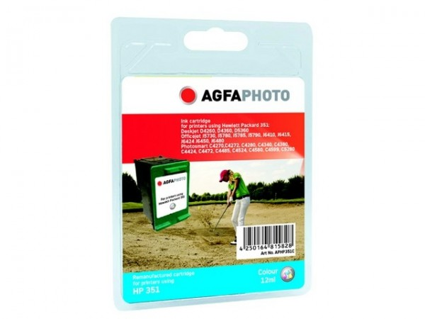 AGFAPHOTO HP351C HP OJ5780 Tinte Color