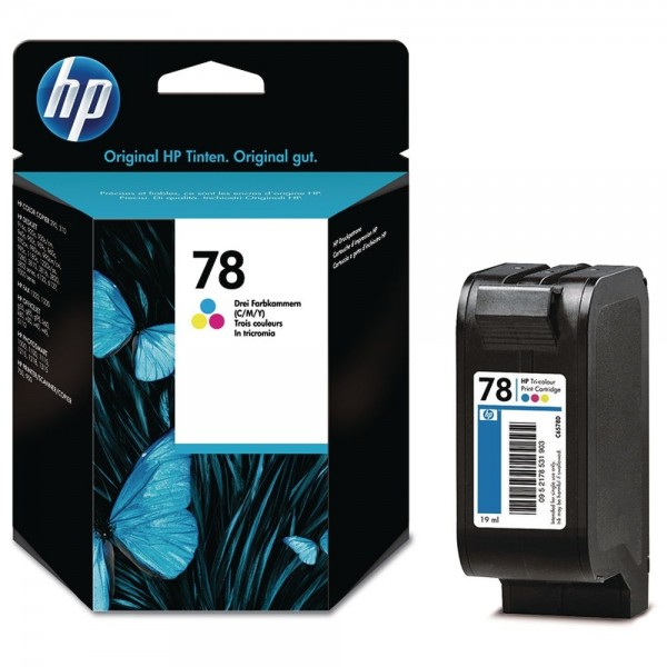 HP 78 Farbdruckpatrone Tri-Color C6578DE Officejet 5105 G55 K60 K80 Photosmart 1000