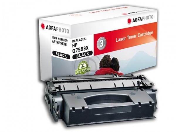 AGFAPHOTO APTHP53XE HP.LJP2015 Toner Toner Cartridge black