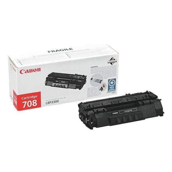 Canon 708 Toner Black Canon I-Sensys LBP-3300 LBP-3360 Cartridge 0266B002