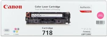 Canon Cartridge 718 Toner Magenta für I-Sensys LBP-7200 MF8350 MF8380
