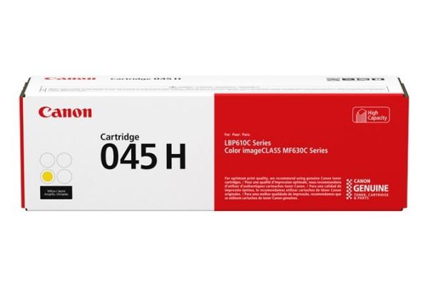 Canon 045 Toner Yellow 1243C002 Canon MF631Cn MF633Cdw MF635Cx LBP611Cn LBP613Cdw