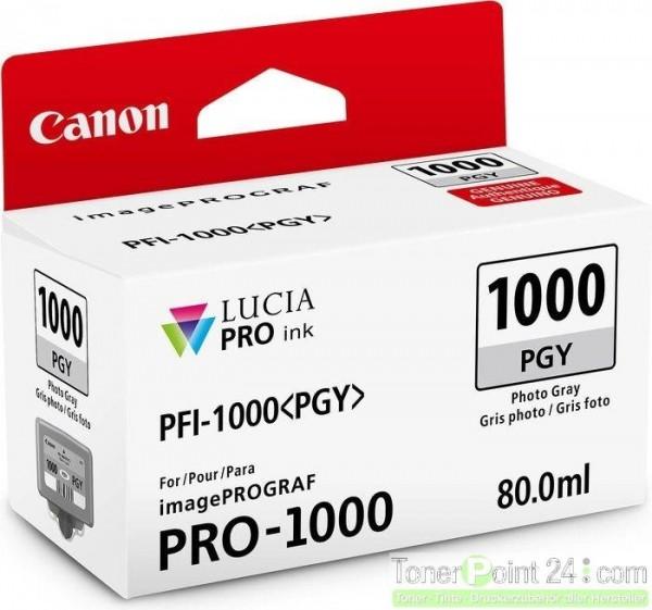 Canon PFI-1000pgy Grau 80ml imagePROGRAF Pro-1000  0553C001
