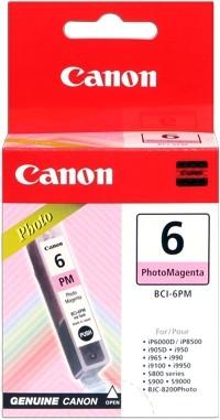 CANON BCI-6PM Tinte foto magenta iP6000D iP8500, MP450