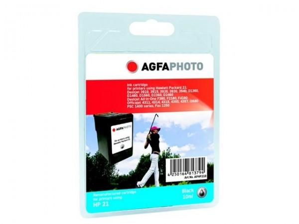 AGFAPHOTO HP21B HP PSC1410 Tinte Black