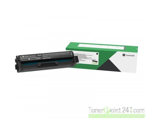 Lexmark C3220K0 Toner schwarz für C3224dw C3326dw MC3224adwe MC3224dwe MC3326adwe