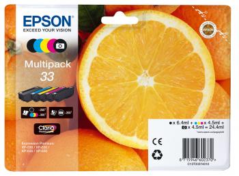 Epson Tintenpatrone T33 Multipack für Expression Premium XP-530 XP-630 XP-635 XP-830