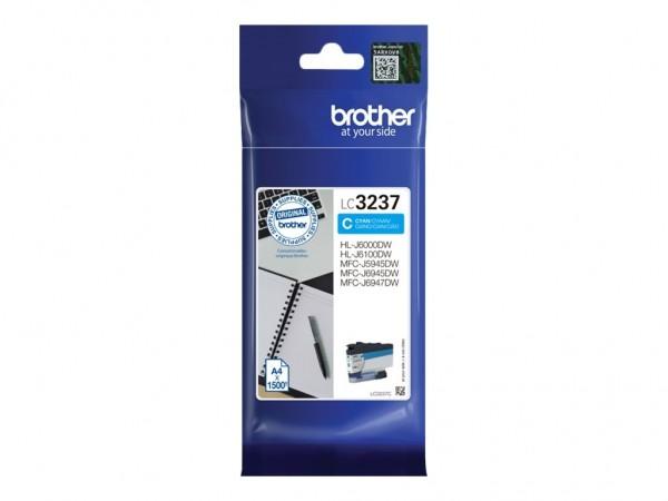 Brother LC-3237C Tintenpatrone Cyan für HL-J6000DW MFC-J5945DW MFC-J6945DW MFC-J6947DW