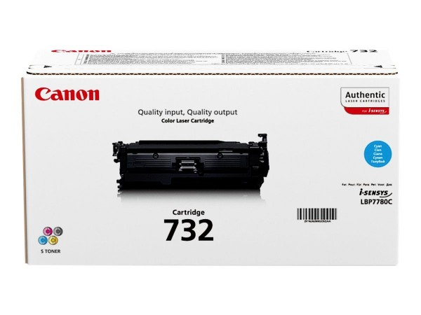 Canon 732 Toner Cyan 6262B002 für Canon I-Sensys LBP-77800Cx