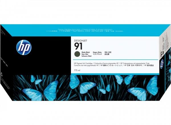 HP 91 Tinte Matt Schwarz für DesignJet Z6100 HP DesignJet Z6100ps C9464A