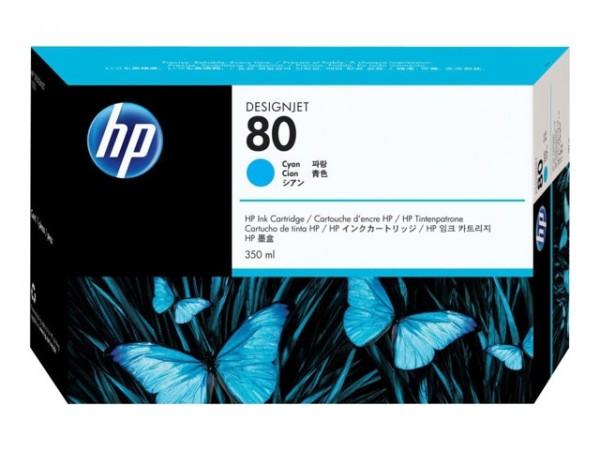 HP 80 Tinte Cyan für DesignJet 1050C 1055CM C4846A