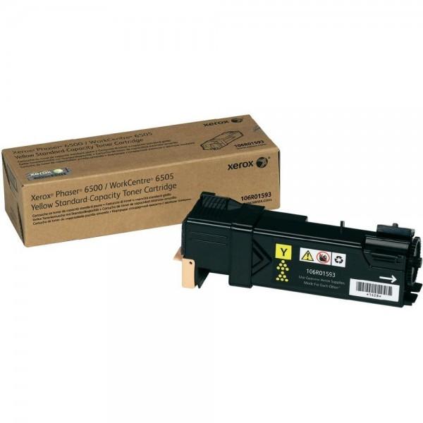 XEROX Toner Yellow für PH6500 Workcentre WC6505 Phaser 6500 106R01593