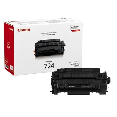 Canon 724H Cartridge Black LBP67500 HC Toner I-SENSYS LBP6750DN 3482B002