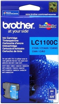 Brother Tintenpatrone Cyan LC1100C DCP-185 DCP-383 MFC-490 MFC5890 6490 6690 6890 MFC-790 795 990