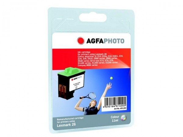 AGFAPHOTO L26C Lexmark Z13 Tinte Color