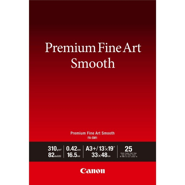 Canon FA-SM1 A3+ Fine Art Papier 310 g/m² 25 Blatt
