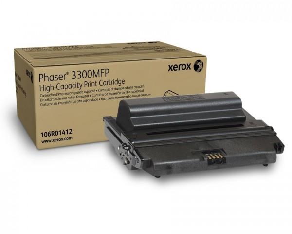 XEROX 106R01412 PH3300MFP Phaser 3300 Toner 8.000 Seiten Black HC