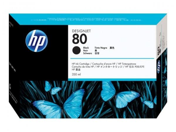 HP 80 Tinte Black für DesignJet 1050C 1055CM C4871A