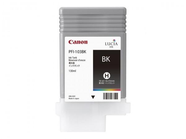 Canon PFI-103BK Tinte schwarz imagePROGRAF iPF5100 iPF6100 iPF6200 2212B001