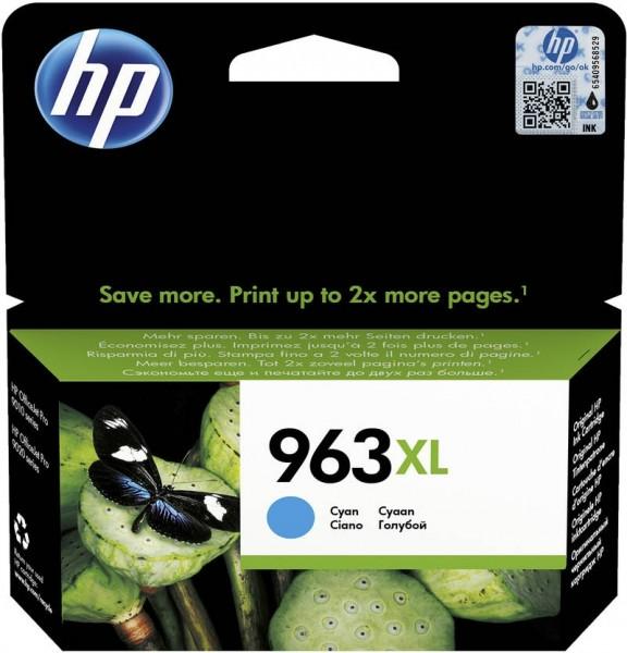HP 963XL Tintenpatrone cyan für OfficeJet Pro 9010 9012 9014 9015 3JA27AE