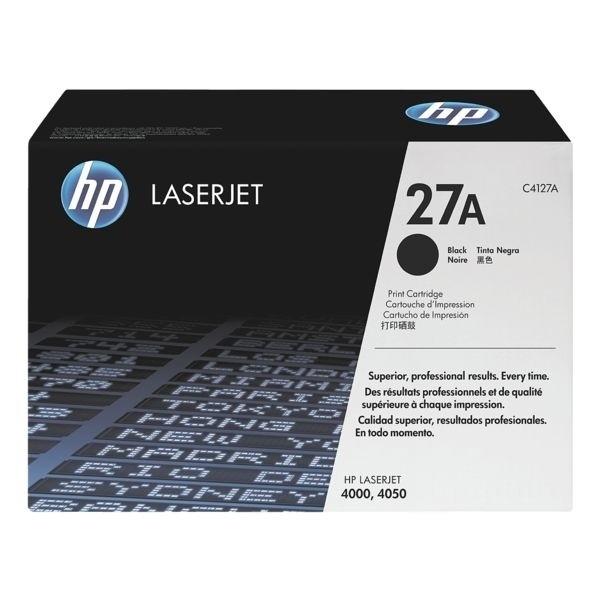 HP 27A Toner Black für LaserJet 4000 LJ4050 C4127A