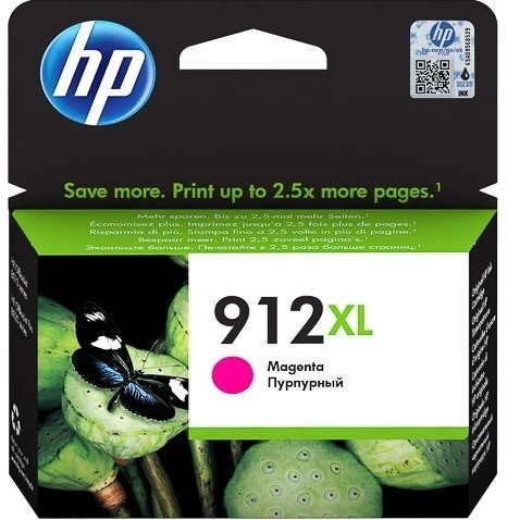 HP 912XL Tintenpatrone magenta 3YL82AE OfficeJet 8012 8014 8015 OfficeJet Pro 8022 8024 8025 8035