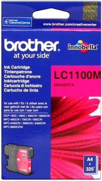 Brother Tintenpatrone Magenta LC1100M DCP-185 DCP-383 MFC-490 MFC5890 6490 6690 6890 MFC-790 795