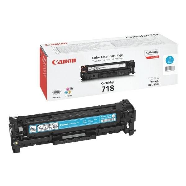 Canon Cartridge 718 Toner Cyan 2661B002 LBP7200 MF8350 MF8380