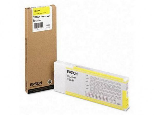 Epson T6064 Tintenpatrone Yellow für Stylus Pro 4800 4880 C13T606400