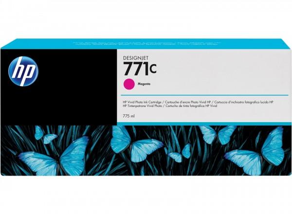 HP 771C Tinte magenta Original HP DesignJet Z6200 Z6600 Z6800 - B6Y09A