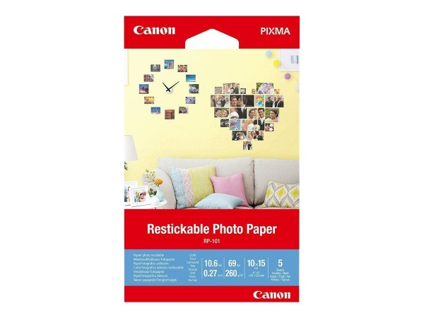 Canon RESTICKABLE PHOTO PAPER RP-101