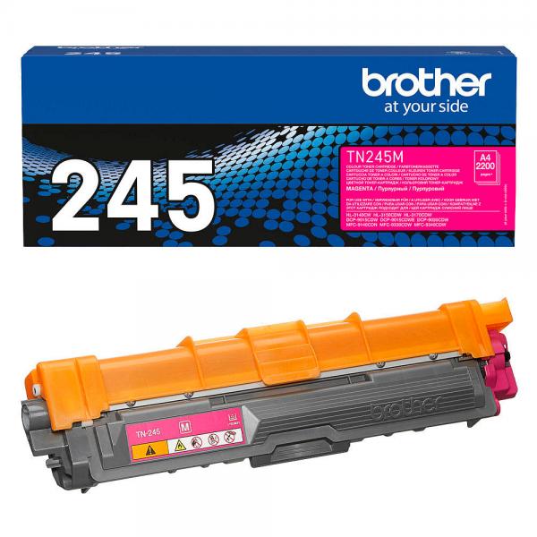 Brother TN-245M Toner magenta für HL-3140CW 3150CDW MFC-9140 MFC-9330 MFC-9340 DCP-9020