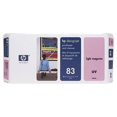 HP 83 Druckkopf Magenta Hell C4965A incl. Druckkopf Reiniger DSJ5000 DJ5500 UV