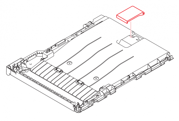 Brother LX3812007 Document Stopper MFC-J6510DW MFC-J6710DW MFC-J6910DW