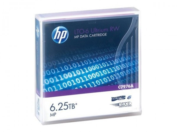 HP LTO Ultrium 6 Data Cartridge 6.25TB 20er pack