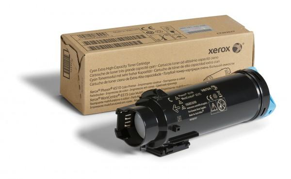 Xerox Toner cyan 106R03690 für Phaser 6510 WorkCentre 6515 4.300 Seiten