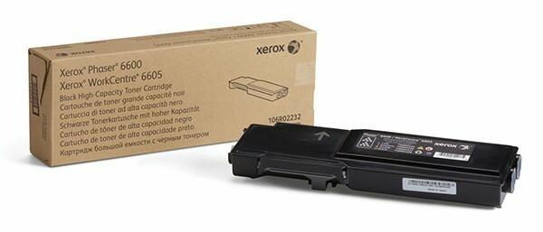 Xerox Toner Black 106R02232 für Phaser PH6600 WorkCentre 6605