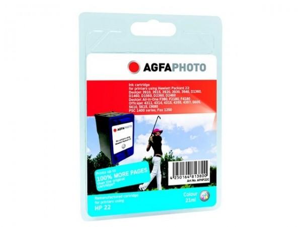 AGFAPHOTO HP22C HP PSC1410 Tinte Color
