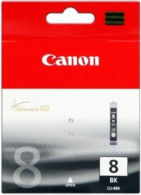 Canon Tinte Black CLI-8BK iP4200 iP4500 iP5200 MP500 iP6600 MP510 MP600