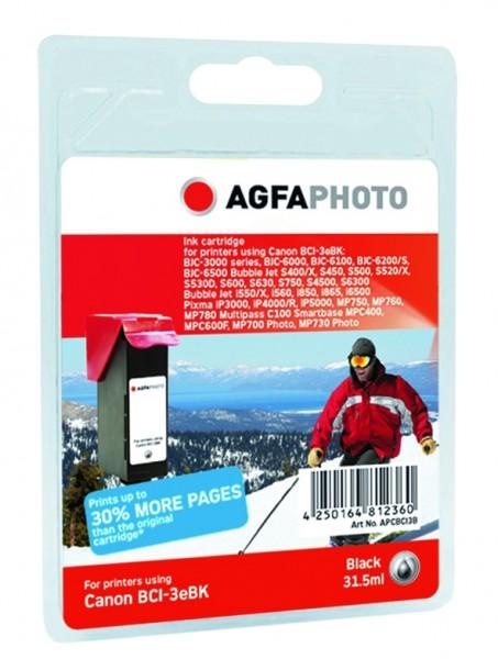 AGFAPHOTO CBCI24B Canon S300 Tinte Black