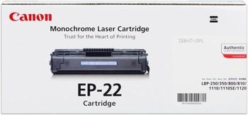 Canon Cartridge EP-22 1550A003 LBP-800